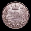 London Coins : A150 : Lot 2729 : Shilling 1875 Die No, 71 Unc even tone and graded 78 by CGS, ESC 1327