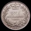 London Coins : A150 : Lot 2737 : Shilling 1884 ESC 1343 UNC/AU and nicely toned
