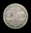London Coins : A150 : Lot 2781 : Sixpence 1677 ESC 1516 EF with some haymarking