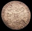 London Coins : A150 : Lot 2817 : Sixpence 1741 Roses ESC 1613 near EF with some light haymarking