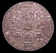 London Coins : A150 : Lot 2818 : Sixpence 1743 Roses ESC 1614 EF with an attractive grey tone