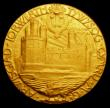 London Coins : A150 : Lot 712 : Investiture of Prince Edward as Prince of Wales 1911 35mm diameter in gold Eimer 1925 The Official R...
