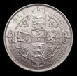 London Coins : A151 : Lot 1526 : Florin 1885 ESC 861, CGS type FL.V1.1885.01, A/UNC and lustrous with some light contact marks, slabb...