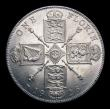London Coins : A151 : Lot 1570 : Florin 1926 ESC 945, CGS type FL.G5.1926.01, A/UNC and nicely toned, slabbed and graded CGS 75