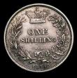 London Coins : A151 : Lot 1618 : Shilling 1874 ESC 1326, Die Number 44, CGS type SH.V1.1874.01 VF, slabbed and graded CGS 50