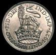 London Coins : A151 : Lot 1665 : Shilling 1927 Second Reverse ESC 1439, CGS type SH.G5.1927.03 Lustrous UNC and choice, slabbed and g...