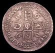 London Coins : A151 : Lot 2159 : Crown 1673 VISECIMO QVINTO ESC 47 a bold Good Fine, with the overall appearance of a higher grade co...