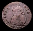 London Coins : A151 : Lot 2328 : Farthing 1700 E or TERTIVS appears as an F (TFRTIVS), V of TERTIVS an inverted A, unbarred A's ...