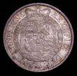 London Coins : A151 : Lot 2609 : Halfcrown 1819 ESC 623 UNC and choice with grey and gold tone over original mint brilliance, comes w...