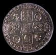 London Coins : A151 : Lot 2957 : Sixpence 1731 Roses and Plumes ESC 1607 A/UNC, slabbed and graded CGS 70