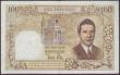 London Coins : A151 : Lot 314 : French Indo-China 100 piastres=100 dong issued 1954 series W.8 25010, Vietnam issue, signature 20, P...