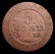 London Coins : A152 : Lot 1151 : France - First Empire 5 Centimes 1808BB Strasbourg Mint,  KM#689 VG scarce
