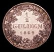 London Coins : A152 : Lot 1179 : German States - Bavaria Half Gulden 1869 Ludwig II KM#882 GEF and lustrous with prooflike fields the...
