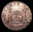 London Coins : A152 : Lot 1266 : Mexico 8 Reales 1740 Mo MF KM#103 EF a little waterworn, overall with good surfaces, from the wreck ...