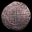 London Coins : A152 : Lot 2046 : Shilling Elizabeth I Sixth Issue, Bust 6B S.2577 mintmark Tun VF or better and pleasing