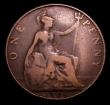London Coins : A152 : Lot 2470 : Penny 1908 Freeman 164A dies 1*+C VG with some scuffs on the portrait, Very Rare, Ex-London Coins Au...
