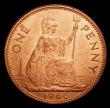 London Coins : A152 : Lot 2493 : Penny 1966 Mint Error - Mis Strike, struck on a thicker heavy flan and weighing 11.14 grammes, UNC a...