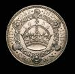 London Coins : A152 : Lot 2624 : Crown 1934 ESC 374 the key date in the series A/UNC and lustrous with a couple of small spots, one o...