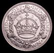 London Coins : A152 : Lot 2625 : Crown 1934 ESC 374 the key date in the series A/UNC and lustrous with some contact marks and small r...