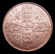 London Coins : A152 : Lot 2717 : Florin 1869 ESC 834 Davies 749 dies 3A top Cross does not touch border beads, Die Number 6, VF/GVF, ...