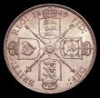 London Coins : A152 : Lot 2730 : Florin 1889 ESC 871 Davies 815 dies 3C GEF/AU and lustrous with some light contact marks