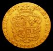 London Coins : A152 : Lot 2788 : Guinea 1759 S.3680 About Fine the edge having a couple of small scuffed areas at 10 and 2 o'clo...