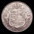 London Coins : A152 : Lot 2966 : Halfcrown 1925 ESC 772 EF with some light contact marks, a key date