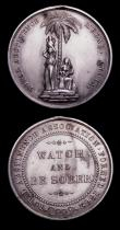 London Coins : A152 : Lot 848 : India General Service Medal 1854 to Pte. W.Field 1st Bn. Ches. Regiment lacking suspension and bars,...