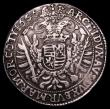 London Coins : A153 : Lot 1015 : Hungary Thaler 1656 KB KM#107 Good Fine