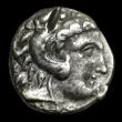 London Coins : A153 : Lot 2089 : Ar tetradrachm. Cyprus, Kition. Pumiathon. C, 362/1-312 BC.  In the name and types of Alexander III ...