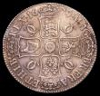 London Coins : A153 : Lot 2174 : Crown 1679 Fourth Bust ESC 57 VF with some haymarking and light adjustment marks