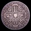 London Coins : A153 : Lot 2478 : Crown 1678 TRICESIMO 8 over 7 VG/NF Rare