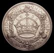 London Coins : A153 : Lot 2683 : Crown 1933 ESC 373 EF with some toning on the reverse rim in a couple of places