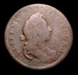 London Coins : A153 : Lot 2765 : Farthing William and Mary Pattern Farthing or medalet undated Montagu 15b VG