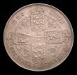 London Coins : A153 : Lot 2777 : Florin 1859 No stop after date ESC 818 NEF/EF with grey tone