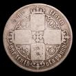 London Coins : A153 : Lot 2779 : Florin 1862 ESC 820 R2, polished Fine.