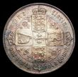 London Coins : A153 : Lot 2784 : Florin 1866 ESC 828 Davies 743 NEF toned