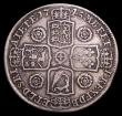London Coins : A153 : Lot 2956 : Halfcrown 1745 Roses ESC 604 Near Fine,