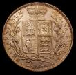 London Coins : A153 : Lot 2997 : Halfcrown 1884 ESC 712 EF starting to tone