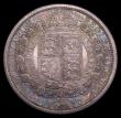 London Coins : A153 : Lot 2998 : Halfcrown 1887 Jubilee Head Proof ESC 720 nFDC and attractively toned