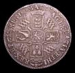 London Coins : A153 : Lot 3220 : Shilling 1693 9 over 0 in date as ESC 1076A also with an interesting mis-strike showing MARIA legend...