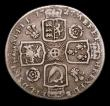 London Coins : A153 : Lot 3264 : Shilling 1727 George II Roses and Plumes ESC 1190 VG/NF