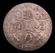 London Coins : A153 : Lot 3277 : Shilling 1787 Hearts ESC 1225 NEF and nicely toned, with some contact marks