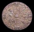 London Coins : A153 : Lot 3363 : Sixpence 1710 Roses and Plumes ESC 1595 NVF/GF and nicely toned