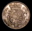 London Coins : A153 : Lot 3368 : Sixpence 1821 as ESC 1654 Proof or Prooflike, UNC toned with a darker spot after F:D:, the portrait ...