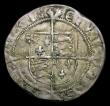 London Coins : A154 : Lot 1597 : Groat Henry VIII Posthumous issue in debased silver, York Mint, reverse CIVITAS EBORAC S.2409 no min...