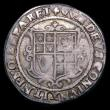 London Coins : A154 : Lot 1620 : Halfcrown James I Third Coinage, plain ground line, S.2667 mintmark Lis, Fine, full and round