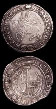 London Coins : A154 : Lot 1621 : Halfcrowns Charles I (2) Group III Third Horseman S.2773 mintmark Crown Good Fine, Group V under Par...