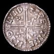 London Coins : A154 : Lot 1641 : Penny Aethelred II Helmet type S.1152 London Mint, North 775, moneyer Swetinc pleasing VF, evenly st...