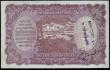 London Coins : A154 : Lot 185 : India 1000 rupees KGVI issued 1937 series A/0 364895, Calcutta branch, Taylor signature, Pick21b, fo...